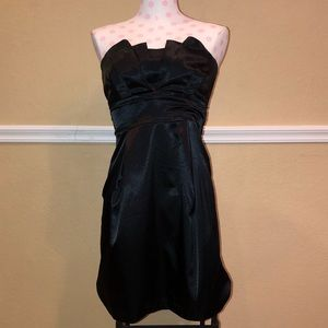 Silk Black Fancy Dress by Teeze Me